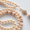 creamrose swarovski pearl tasbeeh