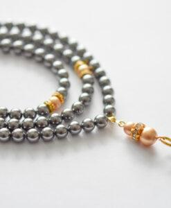 hijabgems swarovski pearl tasbeeh